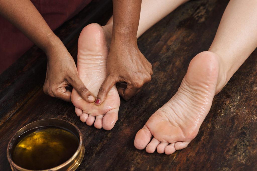 Padabhyanga - ayurvedische Fußmassage